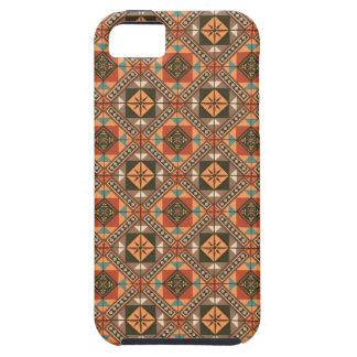 ヴィンテージの幾何学的な民族の刺激を受けたな抽象芸術 Case-Mate iPhone 5 ケース