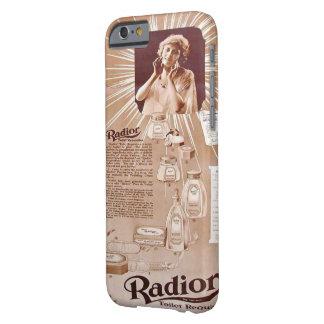 ヴィンテージの広告のラジウムの顔クリーム BARELY THERE iPhone 6 ケース