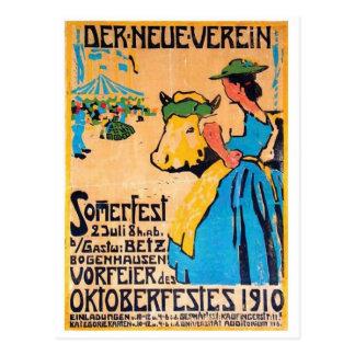 ヴィンテージの広告ポスター郵便はがき ポストカード
