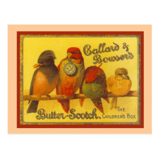 ヴィンテージの広告、CallardおよびBowser ポストカード