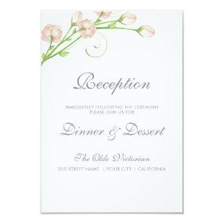 ヴィンテージの庭のバラ-披露宴カード カード
