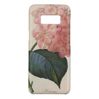 ヴィンテージの庭の花、ピンクのアジサイのHortensia Case-Mate Samsung Galaxy S8ケース