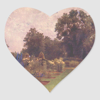 ヴィンテージの庭の芸術-マーティンのトマスの芝刈り機 ハートシール