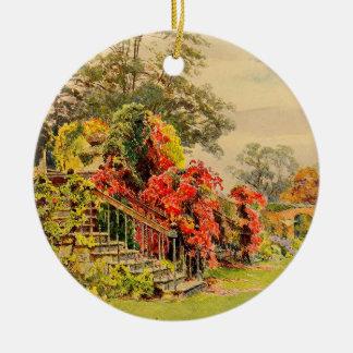 ヴィンテージの庭の芸術- Elgood、ジョージS. セラミックオーナメント