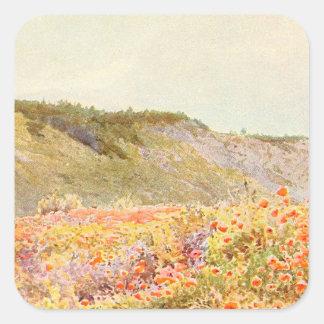 ヴィンテージの庭の芸術- Stormontのハワードのカモメ スクエアシール