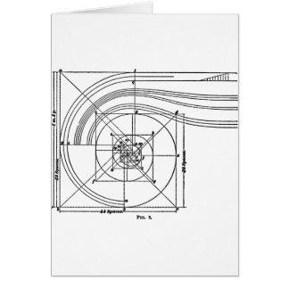 ヴィンテージの建築 カード