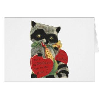 ヴィンテージの強盗のバレンタイン カード