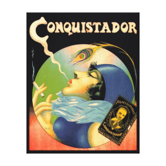 ヴィンテージの征服者のタバコタバコの30年代 キャンバスプリント