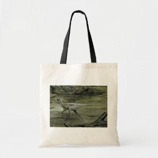 ヴィンテージの恐竜、白亜のHypsilophodon トートバッグ