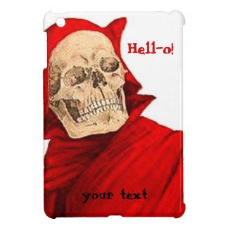 ヴィンテージの悪魔の骨組スカルのハロウィンファウストの死 iPad MINIケース