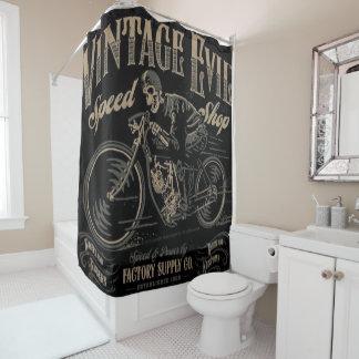 ヴィンテージの悪 シャワーカーテン