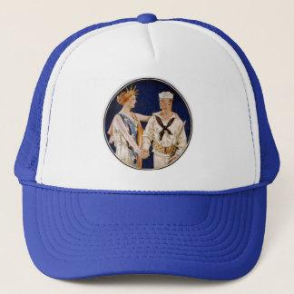 ヴィンテージの愛国心、Liberty海軍人を持つ女性 キャップ