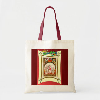 ヴィンテージの感謝祭のデザイン トートバッグ