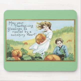 ヴィンテージの感謝祭のmousepad マウスパッド