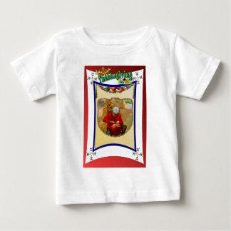 ヴィンテージの感謝祭を祝って下さい ベビーTシャツ