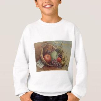 ヴィンテージの感謝祭-フルーツのコルヌコピア スウェットシャツ