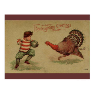 ヴィンテージの感謝祭 ポストカード