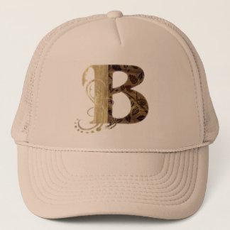 ヴィンテージの手紙B -帽子 キャップ