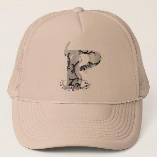 ヴィンテージの手紙P -帽子 キャップ