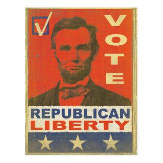 ヴィンテージの投票共和党の2016年の選挙Postca ポストカード