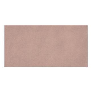 ヴィンテージの挨りだらけのモモの羊皮紙のテンプレートのブランク カード