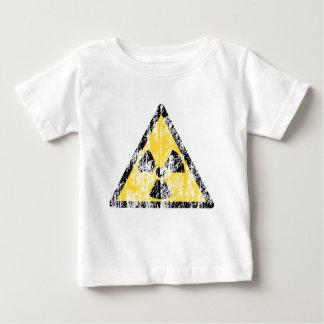 ヴィンテージの放射性警告標識のワイシャツ ベビーTシャツ