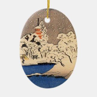 ヴィンテージの日本のなクリスマスのオーナメント セラミックオーナメント