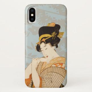 ヴィンテージの日本のな芸者女の子の芸能人 iPhone X ケース