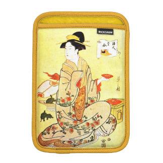 ヴィンテージの日本のな芸術のiPadの小型袖 iPad Miniスリーブ