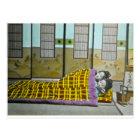 ヴィンテージの日本人のTagakiの睡眠の芸者 ポストカード