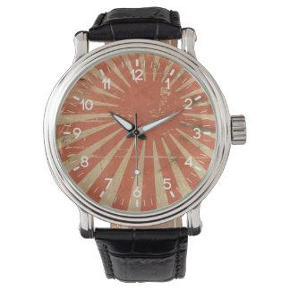 ヴィンテージの日本旗 腕時計