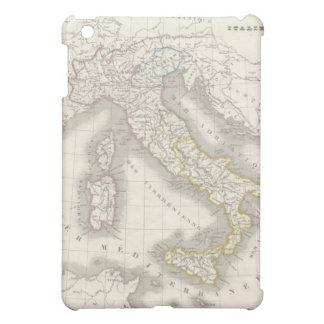 ヴィンテージの旧世界のイタリアの地図のイタリア人のグルメ iPad MINIケース