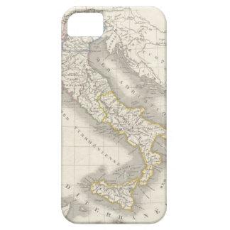 ヴィンテージの旧世界のイタリアの地図のイタリア語 iPhone SE/5/5s ケース