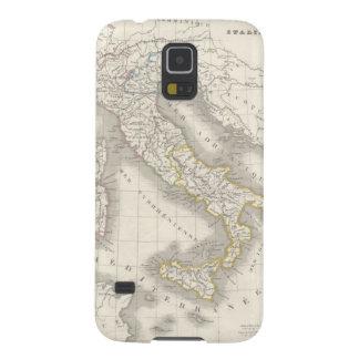 ヴィンテージの旧世界のイタリアの地図のカッコいいのイタリア人のグルメ GALAXY S5 ケース
