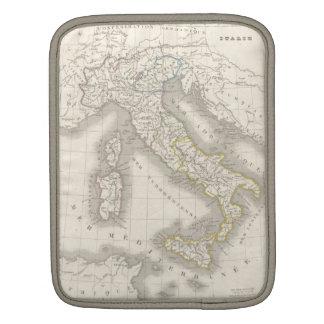ヴィンテージの旧世界のイタリアの地図のiPadの袖 iPadスリーブ