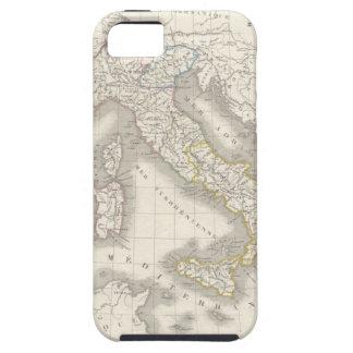 ヴィンテージの旧世界のイタリアの地図のiPhone 5Sの場合 iPhone SE/5/5s ケース