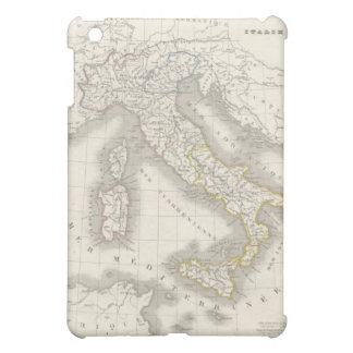 ヴィンテージの旧世界のイタリアの地図 iPad MINIケース