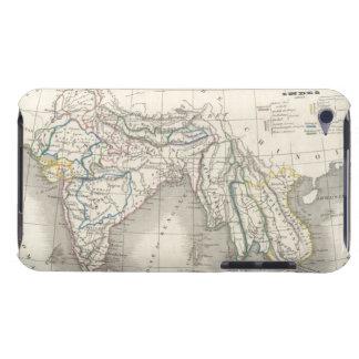 ヴィンテージの旧世界のインドのインドの地図のプリントのカッコいい Case-Mate iPod TOUCH ケース