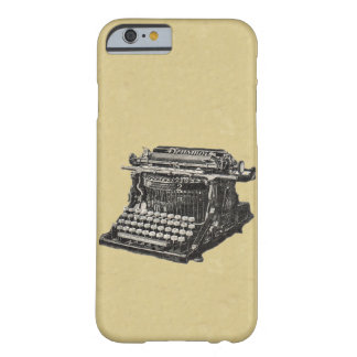 ヴィンテージの旧式で黒い旧式のタイプライター BARELY THERE iPhone 6 ケース