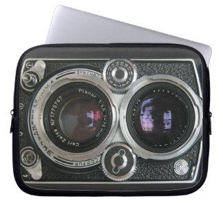 ヴィンテージの旧式なカメラの箱カバー ラップトップスリーブ