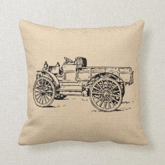 ヴィンテージの旧式な自動車トラックのカスタムの枕 クッション