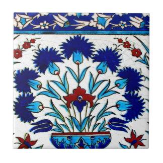 ヴィンテージの旧式な花柄の抽象芸術のトルコ人のタイル タイル