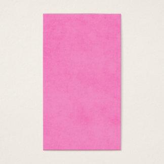 ヴィンテージの明るいピンクの硫酸紙の背景 名刺