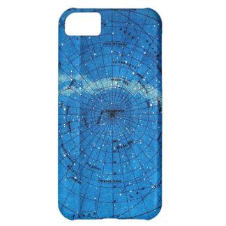ヴィンテージの星座の地図 iPhone5Cケース