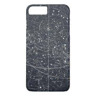 ヴィンテージの星座の地図 iPhone 8 PLUS/7 PLUSケース