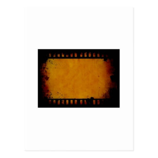 ヴィンテージの映画フィルムのストライブ柄 ポストカード