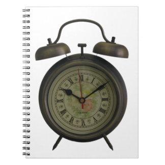 ヴィンテージの時計 ノートブック