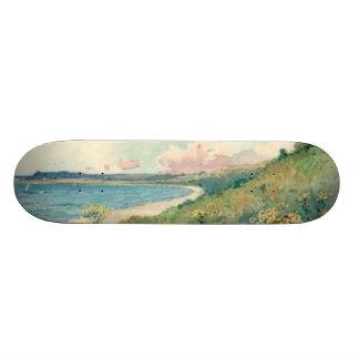 ヴィンテージの景色のスケートボード スケボー