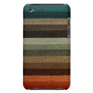 ヴィンテージの暖かい秋の縞模様、地球の調子 Case-Mate iPod TOUCH ケース