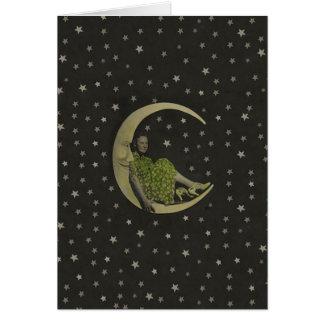 ヴィンテージの月-カード カード
